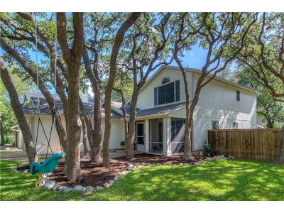 Austin Single Family Home Pending - Taking Backups: 8907 Verona Trl