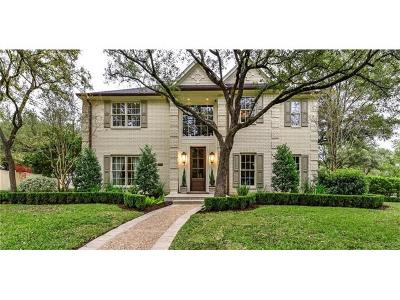 Austin Single Family Home For Sale: 2902 Montebello Ct