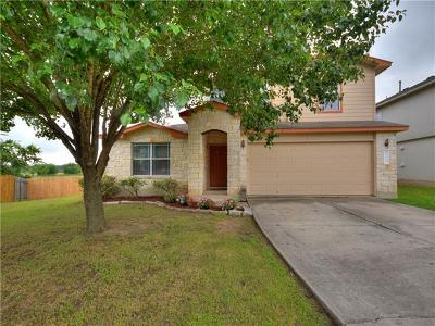 Hutto Single Family Home For Sale: 512 Paige Bnd