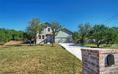Spicewood Single Family Home For Sale: 511 Cowal Dr S