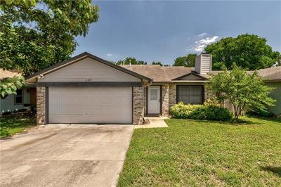 Hays County, Travis County, Williamson County Single Family Home For Sale: 8309 Treehouse