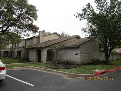 Travis County Condo/Townhouse For Sale: 8100 East Ct