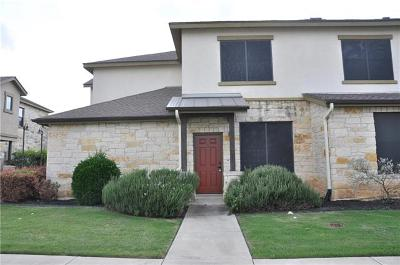 Round Rock Condo/Townhouse For Sale: 2101 Town Centre Dr #1402