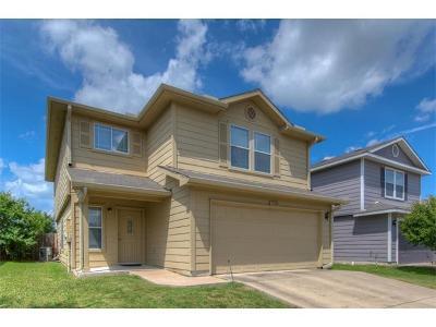 Austin Single Family Home For Sale: 1528 Coriander Dr