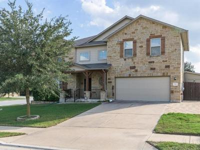 Round Rock Single Family Home For Sale: 509 Brown Juniper Way