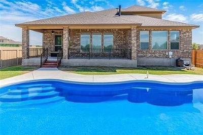 Round Rock Rental For Rent: 3553 De Soto Loop