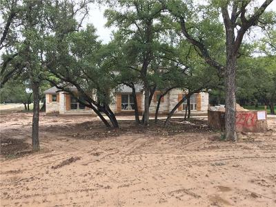 Leander Single Family Home For Sale: 2700 Fishing Hole Cv