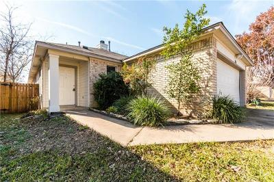 Pflugerville Single Family Home For Sale: 1715 Shire St