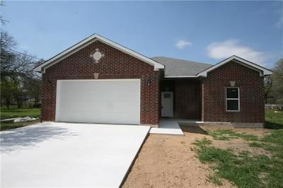 Burnet County Single Family Home For Sale: 1409 Shady Forest Dr