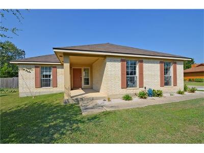 Leander Single Family Home Pending - Taking Backups: 1825 Emerald Isle Dr