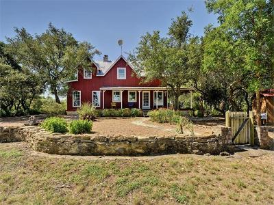 Dripping Springs Single Family Home For Sale: 2705 Gatlin Creek Rd
