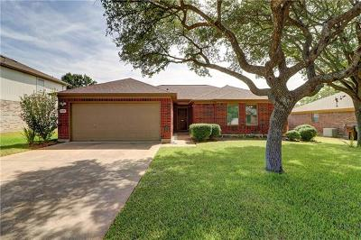 Round Rock Single Family Home Pending - Taking Backups: 3923 Eagles Nest St