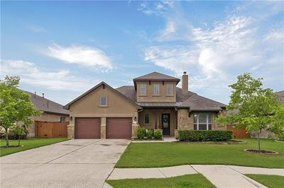 Leander Single Family Home For Sale: 3017 Silver Fountain Dr