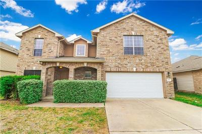 Hutto Single Family Home For Sale: 1116 Concan Dr