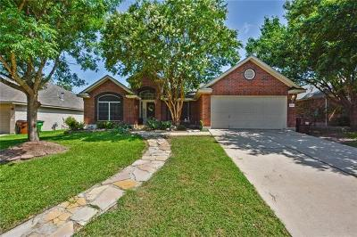 Round Rock Single Family Home For Sale: 3010 Hill St