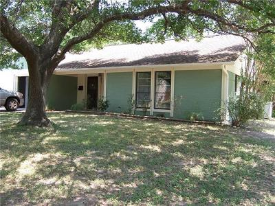 Single Family Home For Sale: 9301 Quail Wood Dr