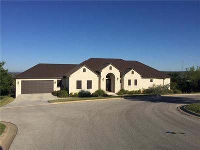 Marble Falls Single Family Home For Sale: 1111 Monterrey Oak Cir