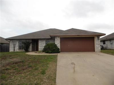 Killeen Single Family Home For Sale: 4300 Lonesome Dove Dr