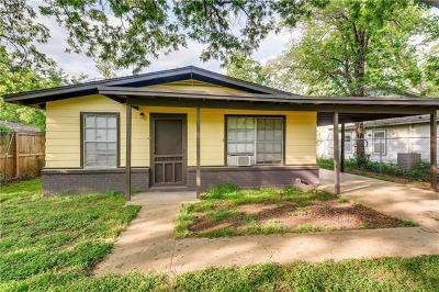 Austin Single Family Home Pending - Taking Backups: 3303 Thompson St