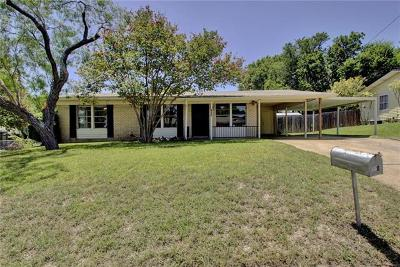 Austin Single Family Home For Sale: 1800 Rhodes Rd