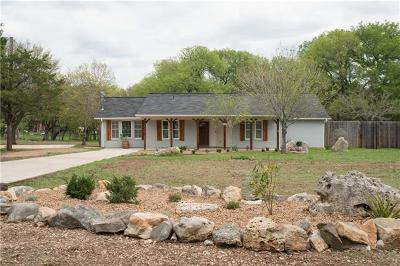 Wimberley Single Family Home Pending - Taking Backups: 214 Leveritts Loop