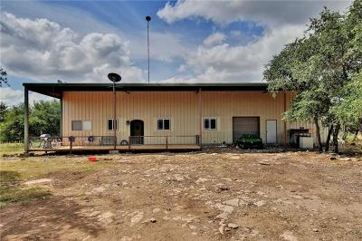 Burnet County, Lampasas County, Bell County, Williamson County, llano, Blanco County, Mills County, Hamilton County, San Saba County, Coryell County Farm For Sale: 4051 County Road 336