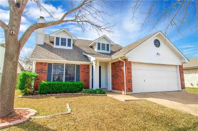 Cedar Park Single Family Home For Sale: 2206 Larston