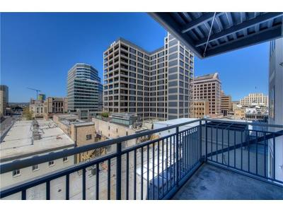 Condo/Townhouse For Sale: 800 Brazos St #901