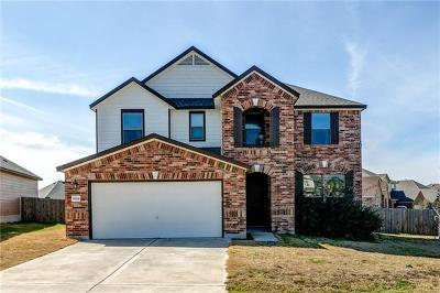 Round Rock Single Family Home For Sale: 5801 Pescia St