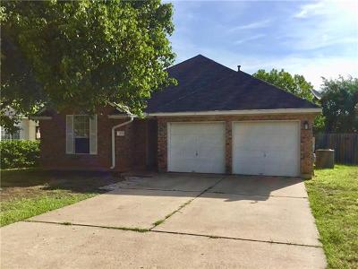 Cedar Park Single Family Home For Sale: 304 N Blue Ridge Pkwy