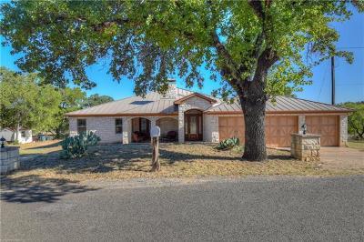 Horseshoe Bay Single Family Home For Sale: 3115 Ranchette Rd