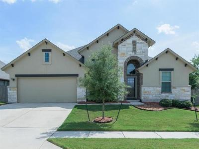 Manor Single Family Home For Sale: 13708 Field Stream Lane