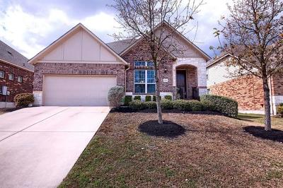 Pflugerville Single Family Home For Sale: 21104 Huckabee Bnd