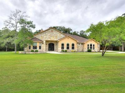 Bastrop Single Family Home Pending - Taking Backups: 208 Pioneer Psge