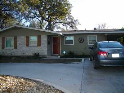 Single Family Home For Sale: 1109 W Oltorf St