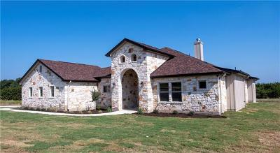 Burnet County Single Family Home For Sale: 312 First Down Dash