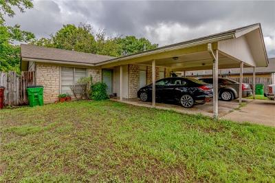 Round Rock Multi Family Home Pending - Taking Backups: 1300 Westcott Dr