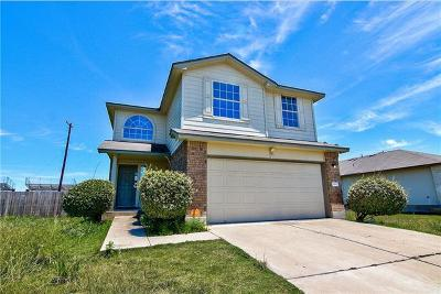 Hutto TX Single Family Home For Sale: $216,000