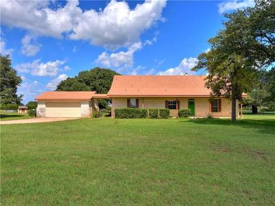 Liberty Hill Single Family Home For Sale: 3310 County Road 284