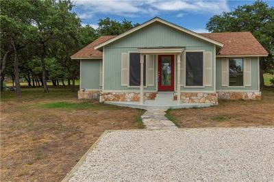 Wimberley Single Family Home For Sale: 10 Wildwood Cir