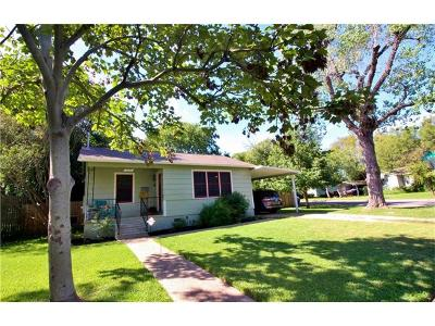 Travis County Single Family Home For Sale: 6308 Hall St