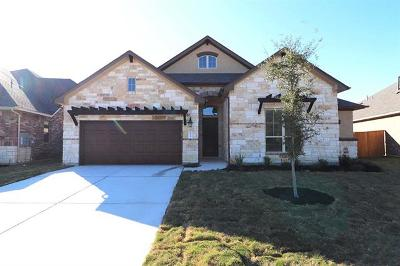 Round Rock Single Family Home For Sale: 4224 Hannover