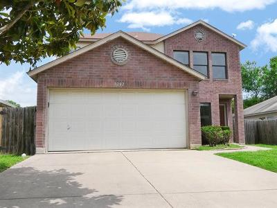 Round Rock Single Family Home For Sale: 3202 Elizabeth Anne Ln