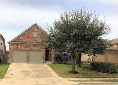 Hutto Rental For Rent: 405 Wiltshire Dr