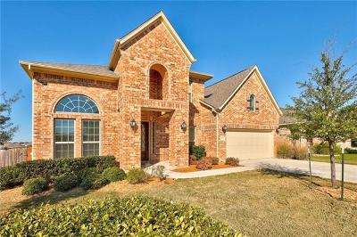 Leander Single Family Home For Sale: 2337 Legend Hill Dr