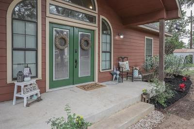 Wimberley Single Family Home For Sale: 300 Frontier Trl