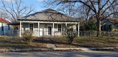 Temple Single Family Home Pending - Taking Backups: 1007 S 4th St