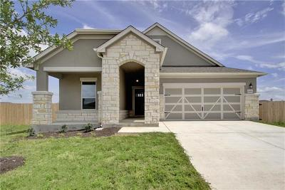 Round Rock Single Family Home For Sale: 6269 Mantalcino Dr