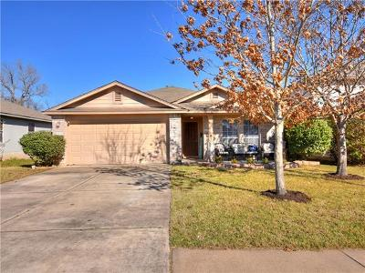 Round Rock Single Family Home For Sale: 2733 Breezy Point Cv