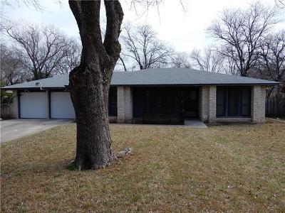 Austin Single Family Home For Sale: 10301 Golden Quail Dr